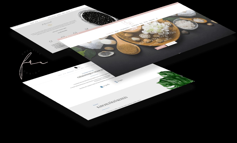 Fru Creative Design refencia weboldalak