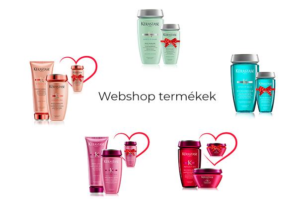 A-list Szalon & Spa webshop termékek