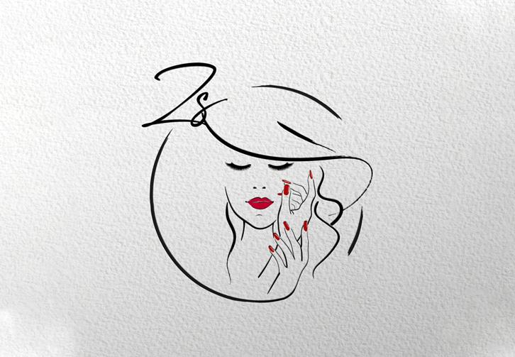 Zsófi Nail&Lash logó tervezés