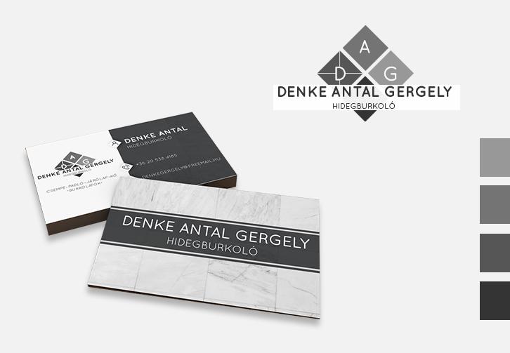 Denka Antal logó és névjegykészítés
