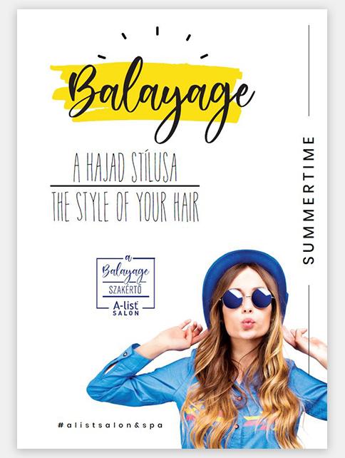 A-list Salon&Spa plakát