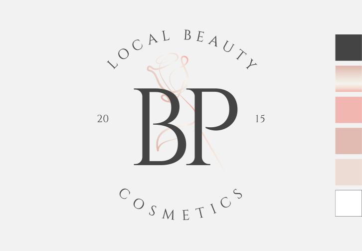 BP Cosmetics arculattervezés