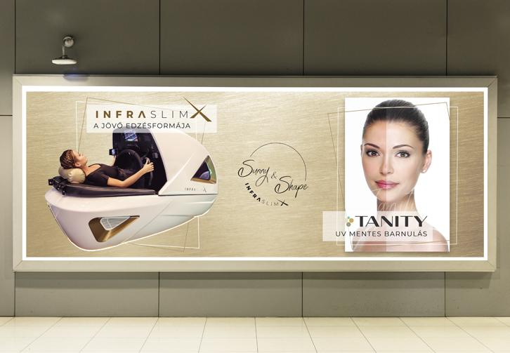 InfraSlimX Sunny&Shape tábla készítése